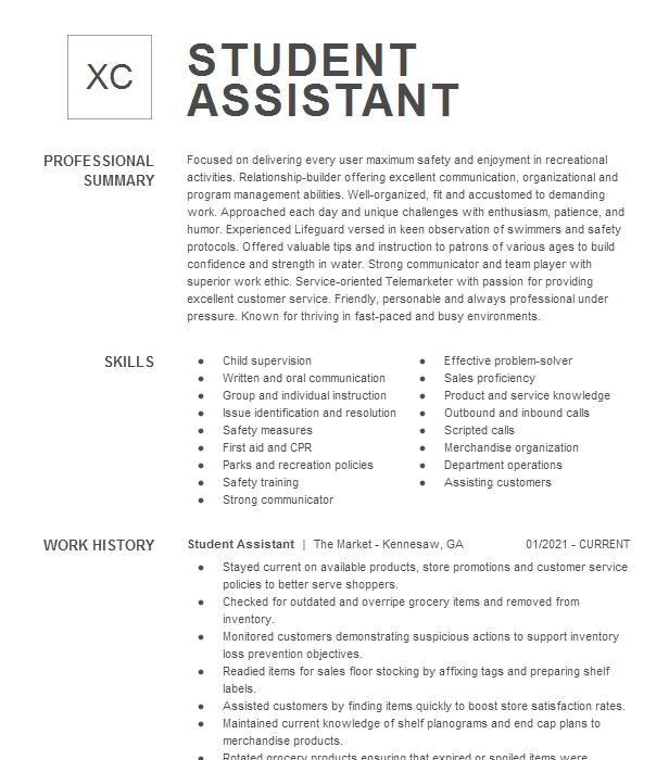 Summer Camp Counselor Resume Sample | Counselor Resumes ...