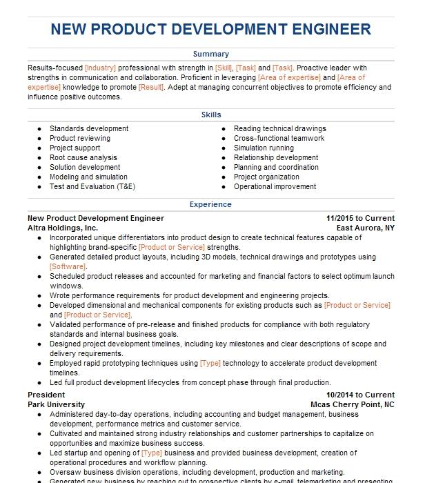 New product development engineer resume how to write a cd using windows xp