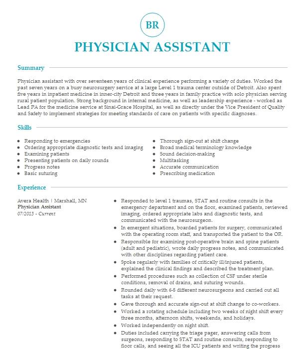 medical and cosmetic dermatology physician assistant