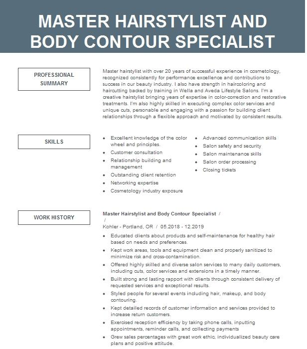 occupational contour resume example ibm india pvt ltd