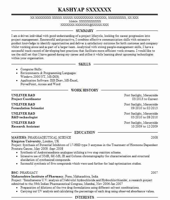 data scientist and r programming consultant cv example