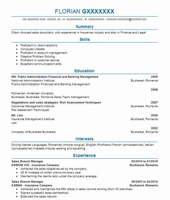 mortgage consultant cv example  royal bank of scotland