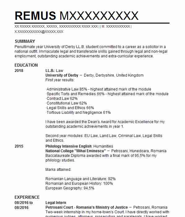 1605 legal cv examples templates livecareer legal intern yelopaper Image collections