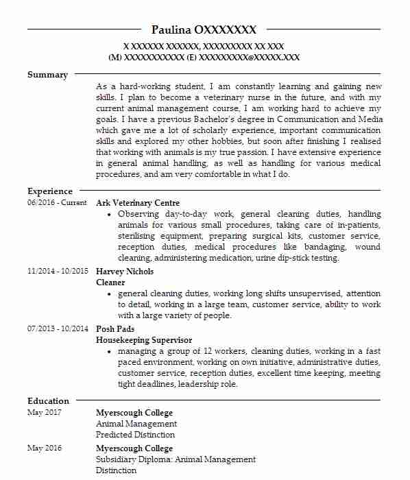 505 Biological Scientists Cv Examples Science Cvs Livecareer