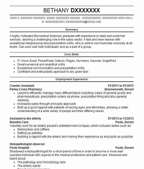 144 pharmacology and pharmaceuticals cv examples