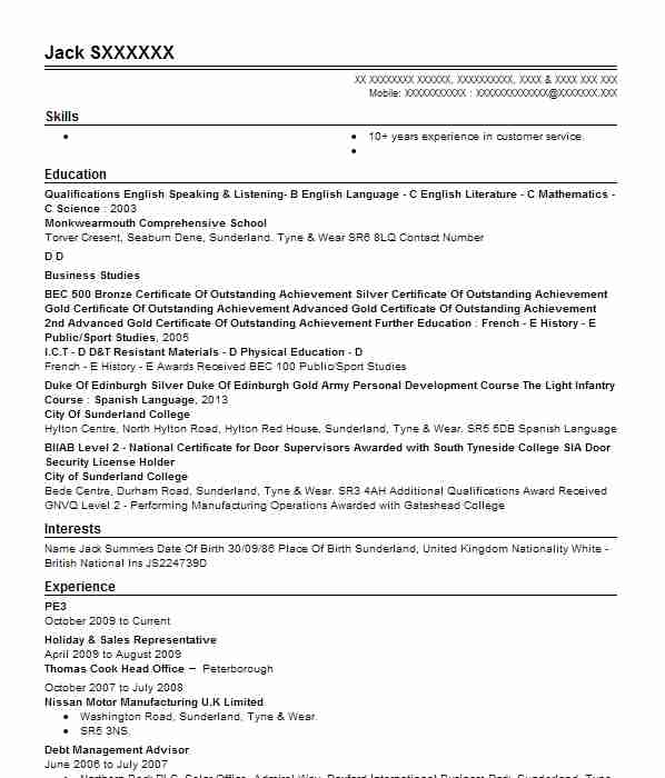 Computers And Technology Cvs: Find CV Examples In Redhill, SRY