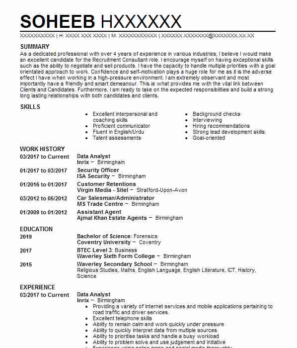 employability teaching associate cv example  edinburgh