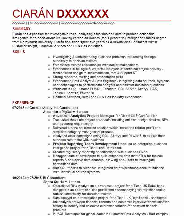 technical consultant cv example  national grid uk electricity  client
