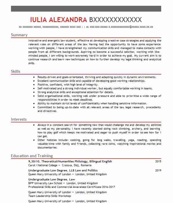 senior associate cv example  hill dickinson llp