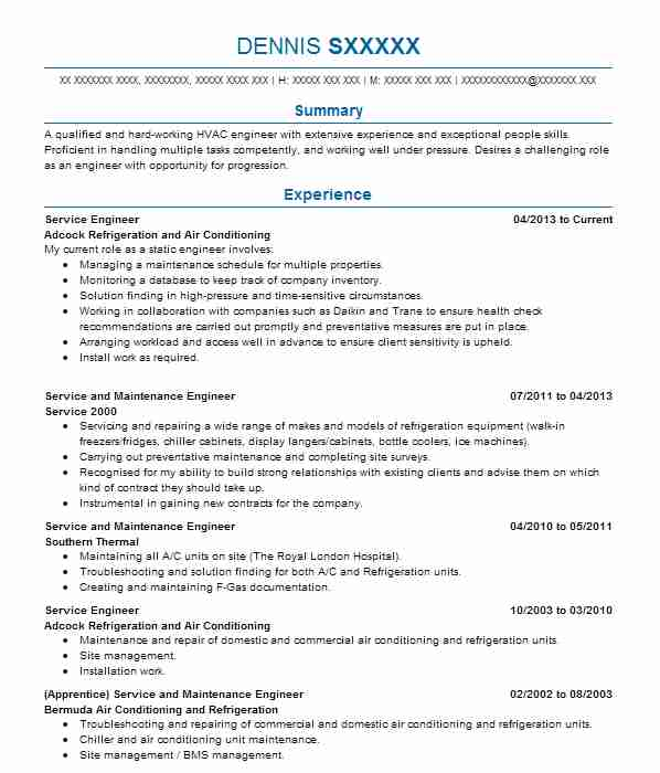 top hvac and refrigeration cv
